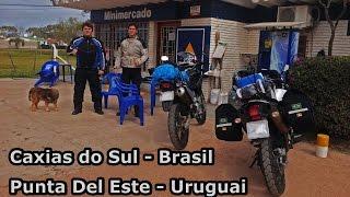 XT 660 e XRE 300 - Viagem de Caxias do Sul a Punta Del Este