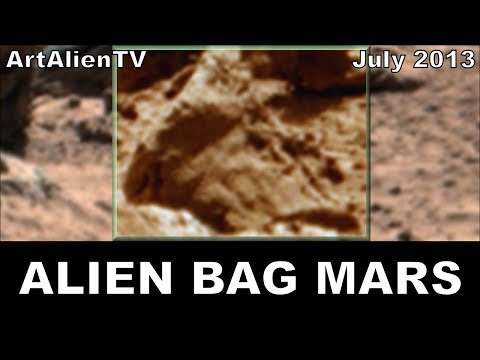 MARS Alien Leather Bag & Shoe Discovered. ArtAlienTV - 738p