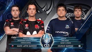 CLS -  KLG vs Isurus   - Apertura S8D1