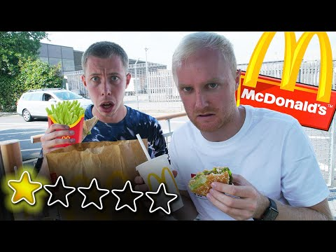 I Went To The WORST Rated McDonalds In My Country