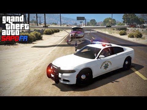 Download Youtube: GTA SAPDFR - Code Zero 76 - Driving a Plane (Jeff's Run)