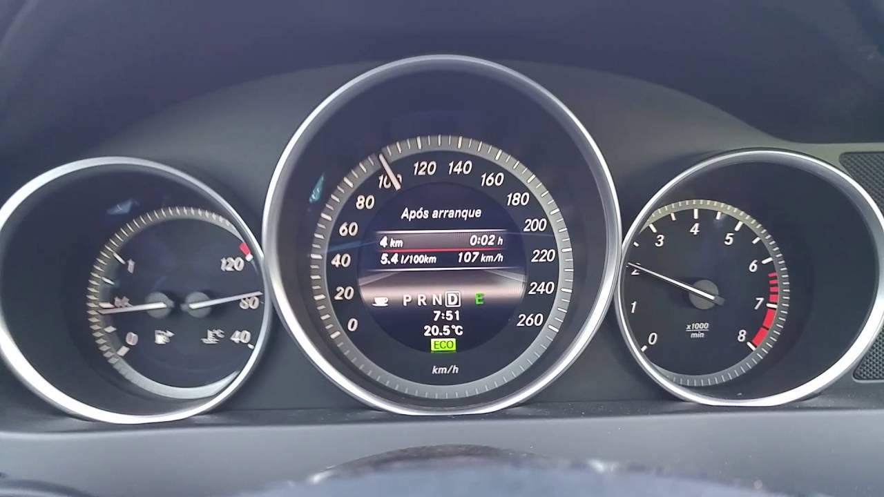 mercedes-benz c180 fuel consumption/ consumo mercedes benz c180