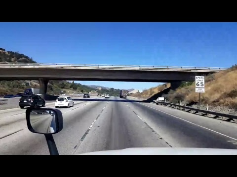 BigRigTravels LIVE! Carson to Santa Clarita, California-LA rush hour traffic! Interstate 405 North