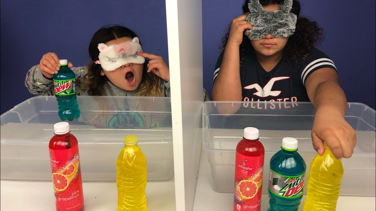 Slime Mary Izzy: Blindfolded Twin Telepathy Slime Challenge