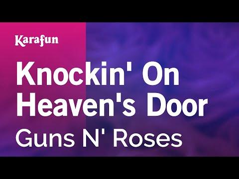 Karaoke Knockin' On Heaven's Door - Guns N' Roses *