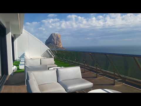 Amazing Views From The Skybar At Suitopía Hotel In Calpe