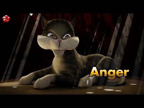 ANGER New kathu story from kathu 3 ♥ malayalam cartoon story for children from Hibiscus