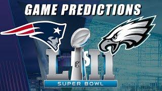 Philadelphia Eagles vs New England Patriots: Super Bowl 52 Predictions