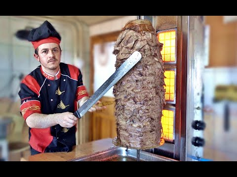 Turkish Doner Kebap Recipe 100% Meat Slices
