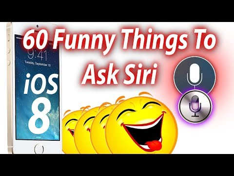 60 Funny Things To Ask Siri Part 3 With iOS 8