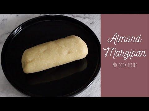 Homemade Almond Marzipan - No Cook Recipe