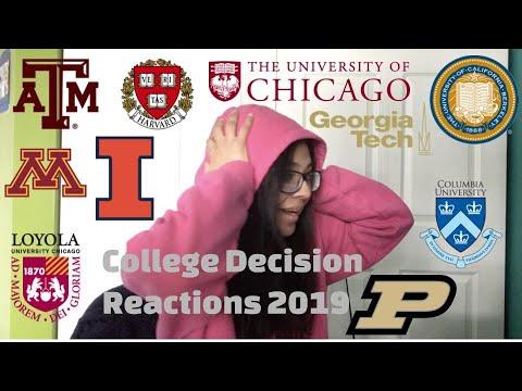 College Decision Reactions 2019 (Computer Science) - UIUC, UC Berkeley, Purdue, Harvard, Etc.