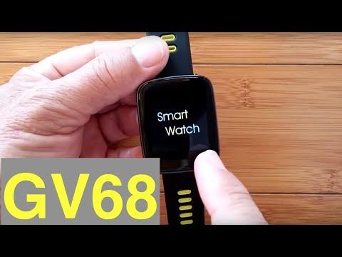Makibes GV68 IP68 Waterproof Smartwatch: Unboxing & 1st Look