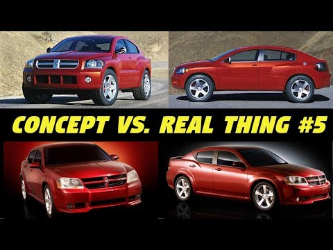 2003 Dodge Avenger (Crossover/SUV) - Concept Cars vs. The Real Thing #5