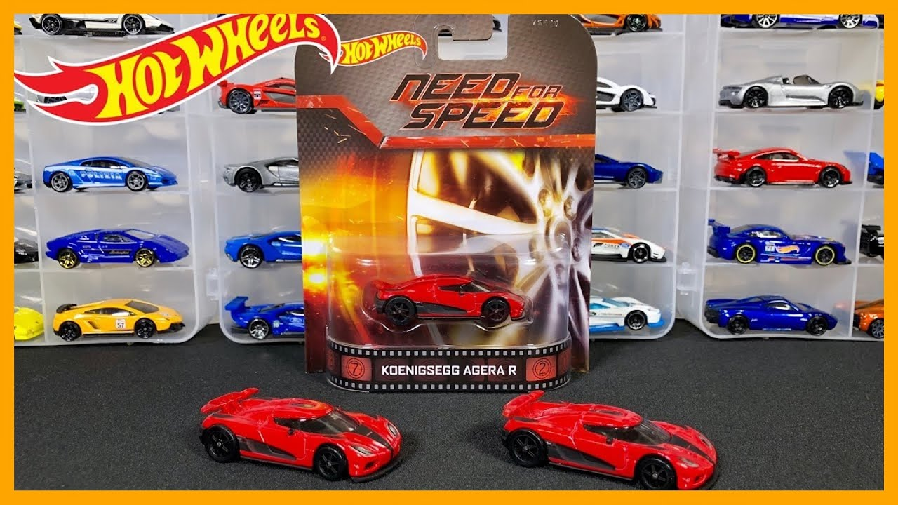 Hot Wheels KOENIGSEGG AGERA R REVIEW (2 variations) - YouTube