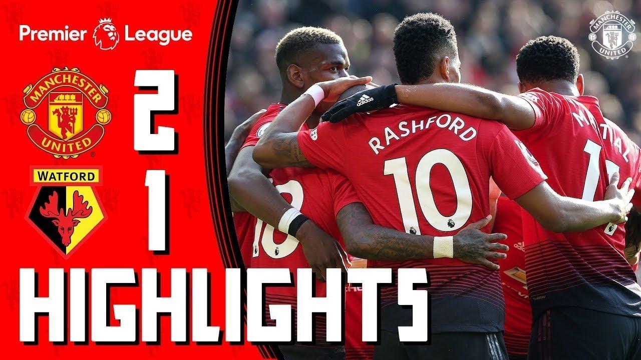 Highlights | Manchester United 2-1 Watford | Rashford & Martial seal the win