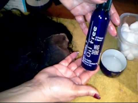 How to remove glue from your full lace wig
