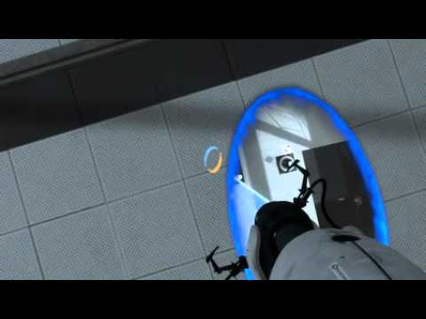 GETTING PAST HARDER LEVELS? | Portal 2 story mode part 4