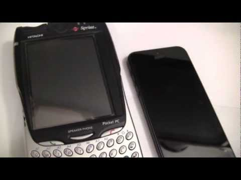 Apple iPhone5 vs Hitachi SH-G1000 Demo Review