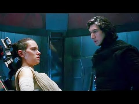 Star Wars The Force Awakens - Kylo Ren interrogates Rey