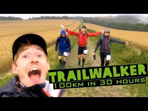 COULD YOU WALK 100km IN 30 HOURS? Trailwalker UK 2017