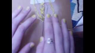 Плетение фенечек by Стюня. Видео-урок №3.