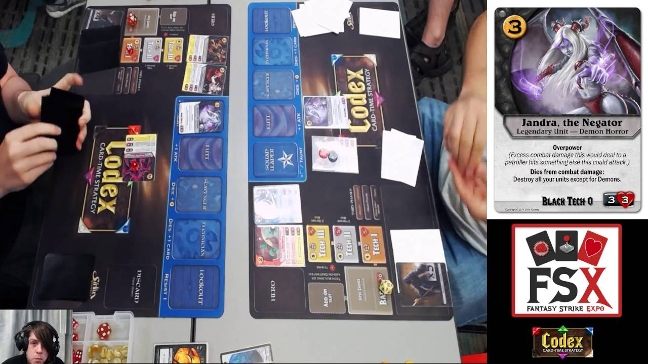 FSX2016 Codex Grand Finals - sharpobject vs  Alhazard
