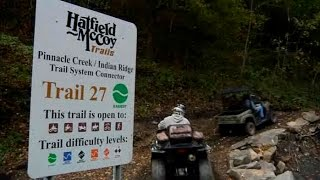 Fisher's ATV World - New Trail at Hatfield & McCoy Trails (FULL)