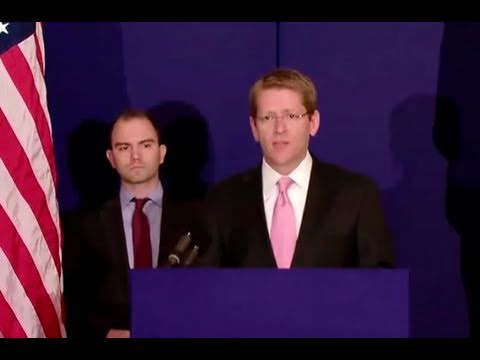 Press Briefing with Jay Carney and Ben Rhodes