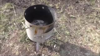 Печка для казана Kukmara. Обзор и тест - готовим плов