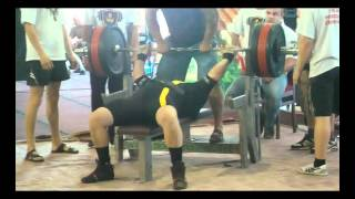Andrey Paley 320 kg GOOD lift