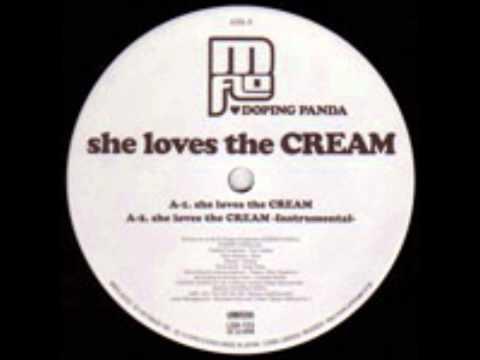 she loves the cream