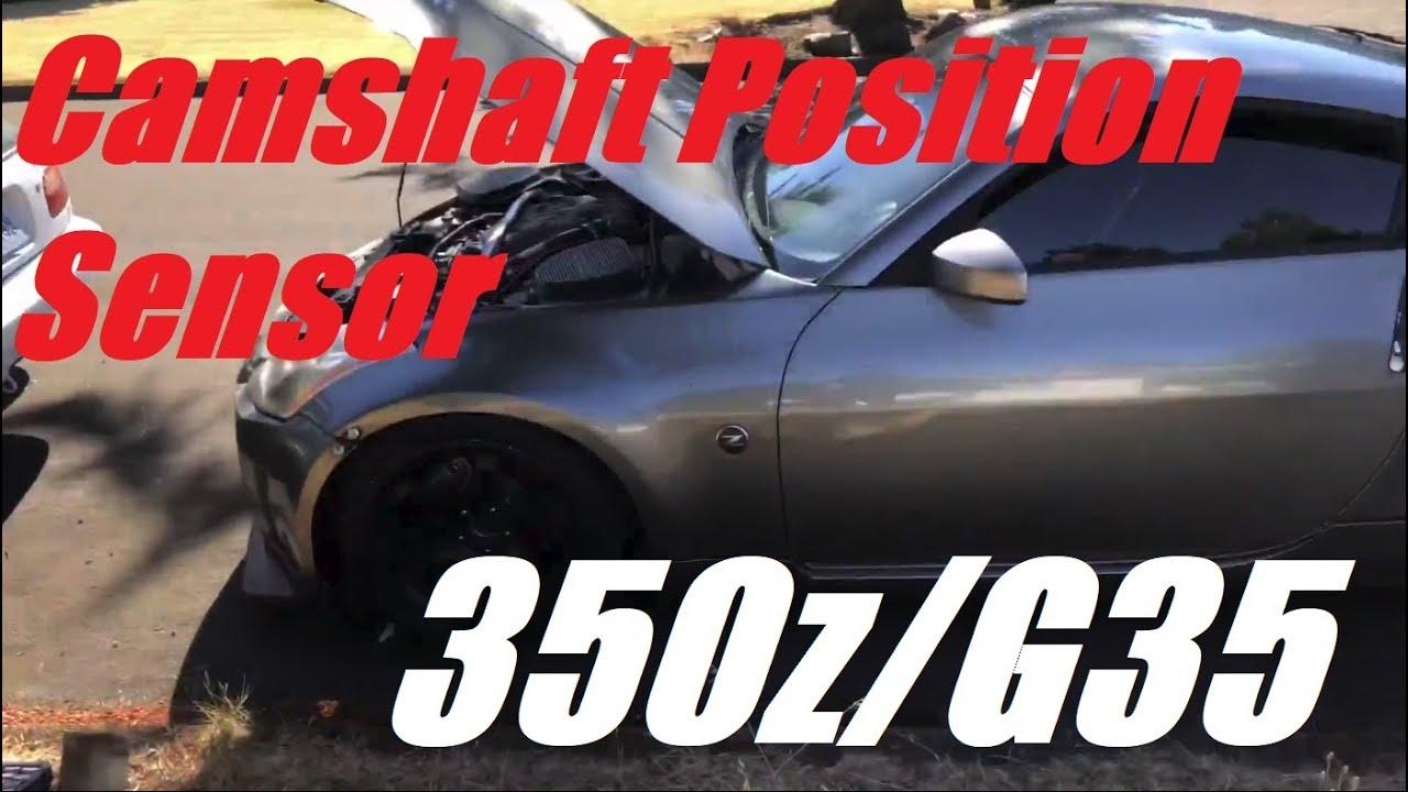 350z/G35 VQ35DE Camshaft Position Sensor Replacement DIY