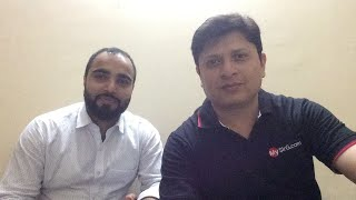 Saurabh sir and Dr Farhat sir  Live