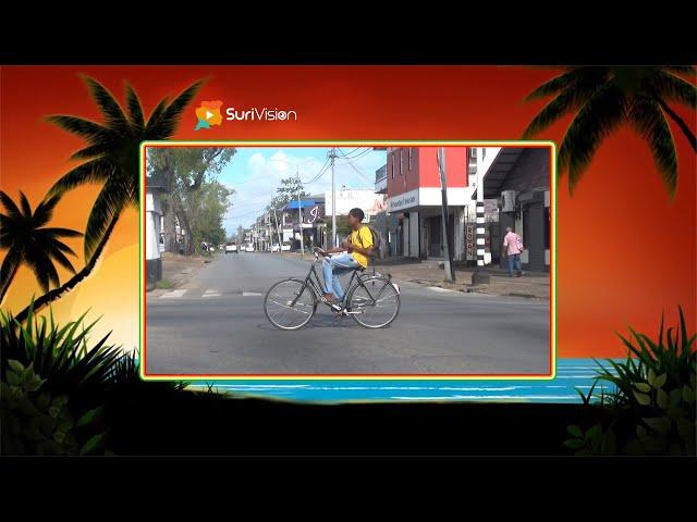 Een ritje Paramaribo op een zondagmorgen vóór de Coronacrisis.