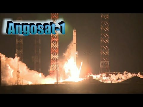 Russia Launches Angola's First Telecom Satellite Angosat-1 Using Ukrainian Rocket Zenit-2SB