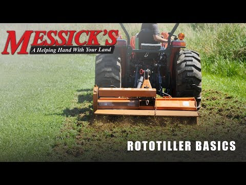 Rototillers | Buying Tips, Maintenance And Operation.