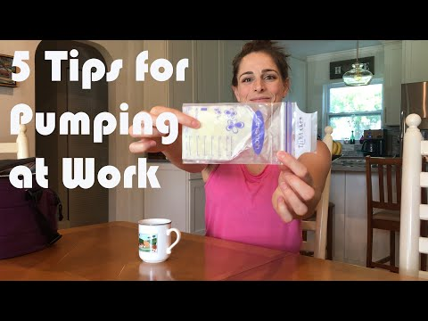 Five Tips For Pumping At Work