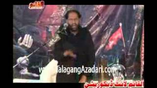 Zakir Maqbool Hussain Dhakoo {Jalsa Sayeen Sabir 29,30 August 2015}