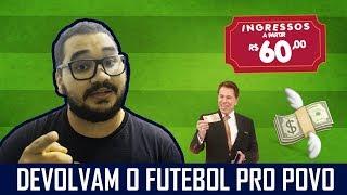 Café Pinheiro discute elitização do futebol em mais um vídeo. Confira!