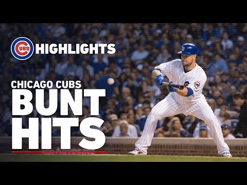 Lester Walk-Off, Báez Safety Squeeze & More | Highlights Of Cubs Bunt Hits