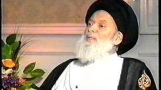 مقابلة قناة الجزيرة مع العلامة المرجع السيد محمد حسين فضل الله 25 6 2003