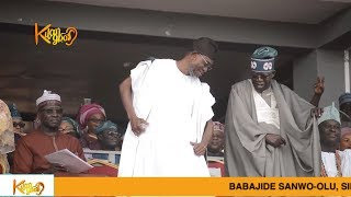Download Video Tinubu Speech at Gov. Gboyega 's Inauguration And  Shows Off Dance Skills With Aregbesola MP3 3GP MP4