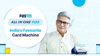India's Favourite Card Machine – Paytm All-in-One POS