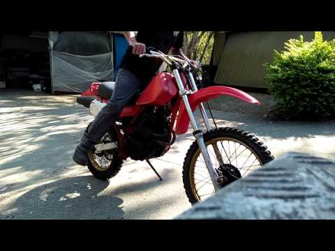 1981 Honda Xr250r Start-up