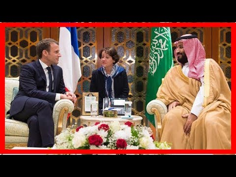 Macron of France condemned the rocket launch of houthi in riyadh