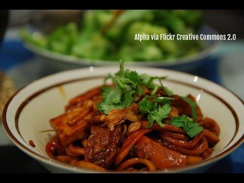 (Hangout-On-Air) How to Cook KL Hokkien Noodles