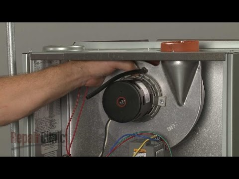 Draft Inducer Motor - Rheem Furnace