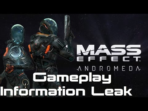 New Mass Effect Andromeda Gameplay Information Leak