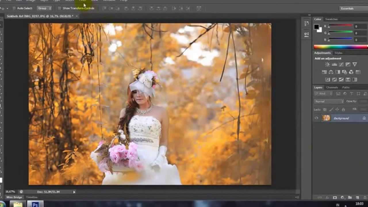 Easy  Make Colors Autumn Effect – Latest Photoshop Tutorial